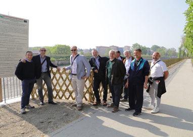 Inaugurata la nuova pista ciclabile che collega i ponti su via Baganza
