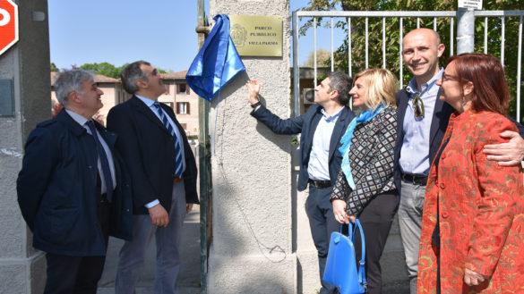 Riapre ufficialmente Villa Parma, un polmone verde della città