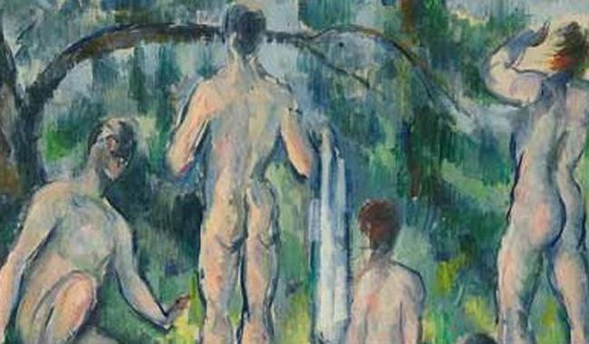 """""""I Bagnanti"""" di Cezanne, dal 22 aprile alla Magnani Rocca"""