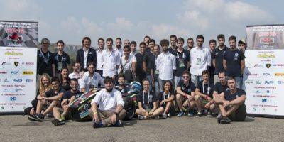 L'UniPR Racing Team al completo