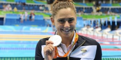 Giulia Ghiretti - Argento nei 100 m rana a Rio 2016