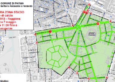 Parma-Reggiana: le strade chiuse dalle 11 di domenica 7 maggio
