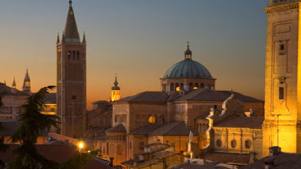 Parma tra le 100 città d'Italia d'Arte in Italia, testimonial alla Borsa del Turismo