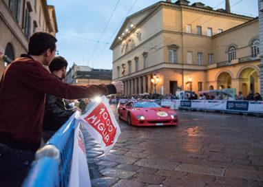 Arriva la Mille Miglia: Parma invasa dalle auto d'epoca