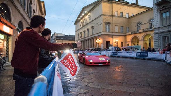 La Mille Miglia 2017 passa ancora da Parma!