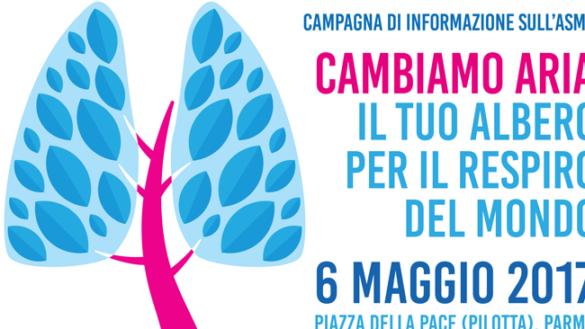 """""""Cambiamo aria"""",  sabato 6 maggio la Giornata Mondiale dell'Asma"""