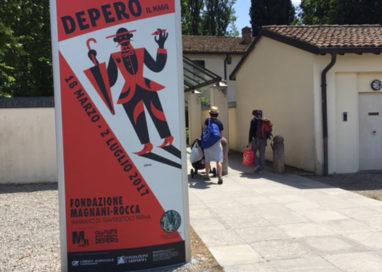 """""""Depero il Mago"""", circa 15000 i visitatori alla Magnani Rocca"""