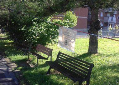 Quartiere Montanara: il parco aperto da un lato e chiuso dall'altro