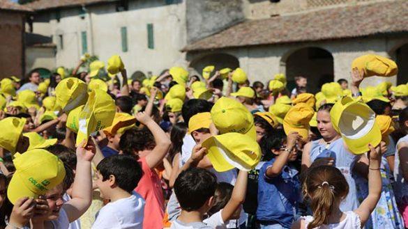 1000 cappellini gialli alla Corte di Giarola