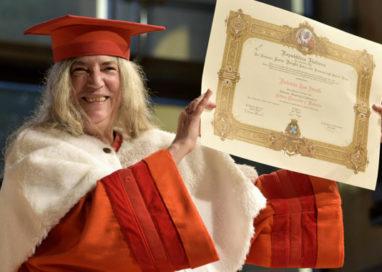 Patti Smith laureata ad honorem a Parma
