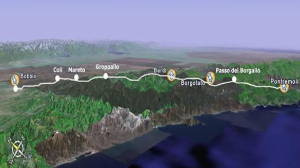 La Via degli Abati tra i 10 sentieri più belli d'Italia