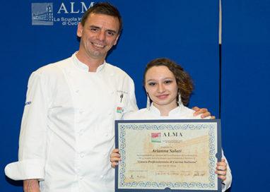 ALMA, Corso Superiore di Cucina Italiana. Diplomata una ragazza di Montechiarugolo