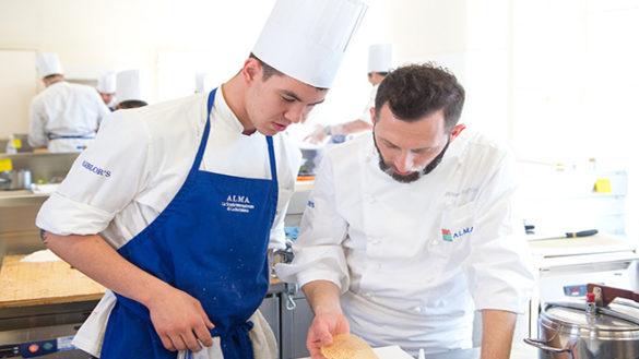 """""""Il Ristorante degli Chef"""": ALMA su Rai2 in prime time"""