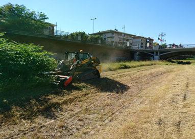 Greto del torrente Parma, al via le operazioni di sfalcio