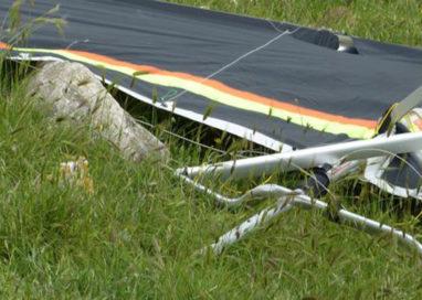Polesine: deltaplano si schianta al suolo, coinvolti due bresciani