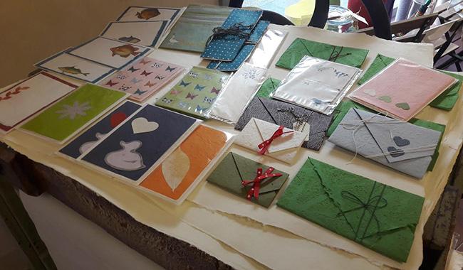 Cartasogno: Marzia e l'arte della carta che prende forma