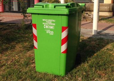 """Differenziata: in via sperimentale arriva il bidone del """"verde"""""""