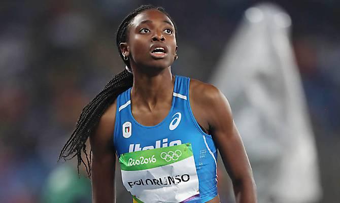 Bonaccini premia la medaglia d'oro fidentina Ayomide Folorunso