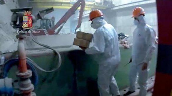 Iren incenerisce 425 kg di hascisc