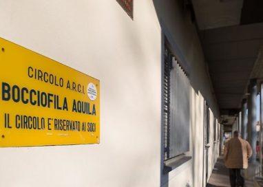 Stanziati 180 mila euro per rifare il tetto della Società Bocciofila Aquila