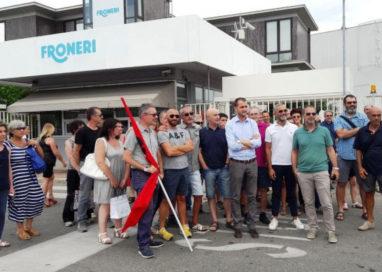 Azienda ex Nestlè a rischio: lavoratori in sciopero