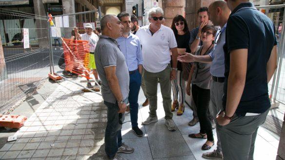 """Via Mazzini: """"Nuova pavimentazione entro la metà di settembre"""""""
