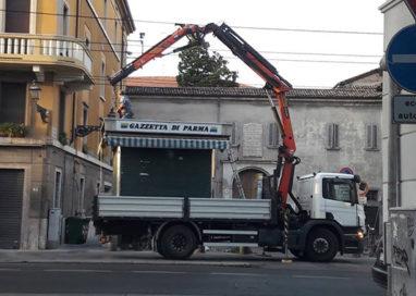 Borgo Lalatta, l'edicola non c'è più…