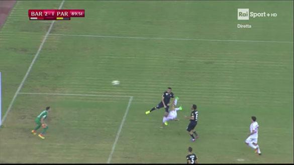Il Parma è fuori dalla Coppa Italia: perde 2 a 1 a Bari