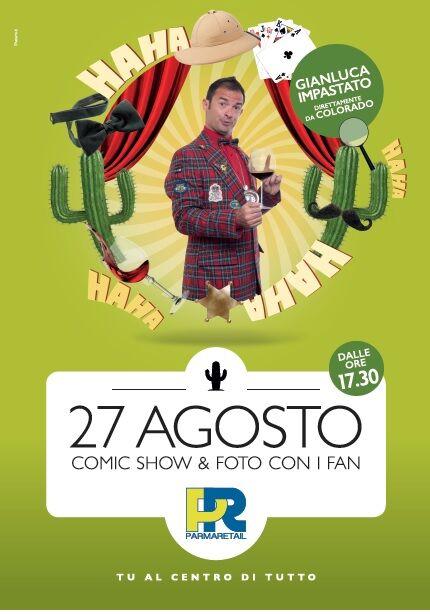 Parma Retail GIanluca Impastato