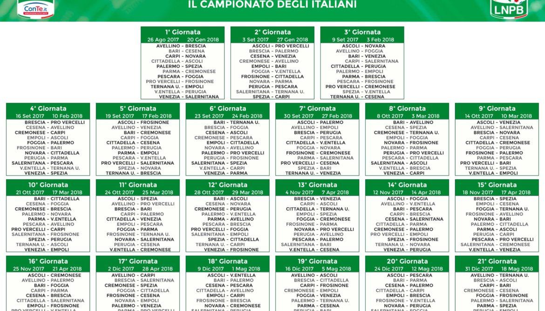 Calendario Cremonese.Calendario Serie B Parmareport