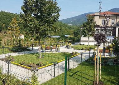 Inaugurato a Compiano un Giardino per le persone affette da Alzheimer