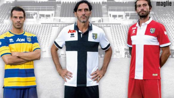 Il Parma si presenta ufficialmente: ecco le tre maglie del ritorno in B