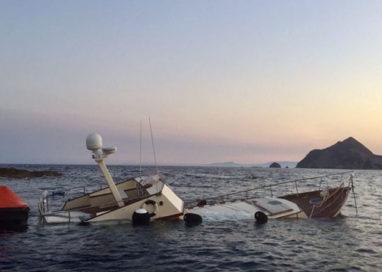Palmarola, paura per due parmigiani. Affondato il loro yacht