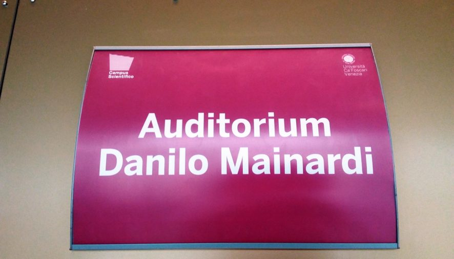Intitolato a Danilo Mainardi l'Auditorium del Campus di Cà Foscari
