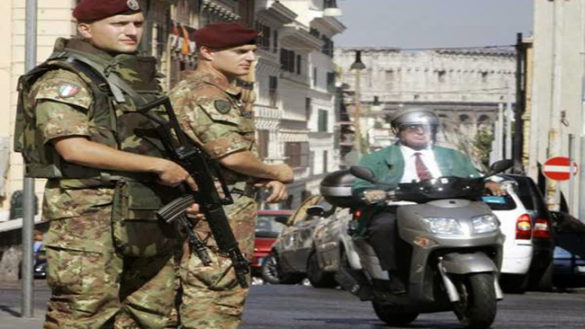 Emergenza sicurezza: presidio dell'esercito in arrivo?