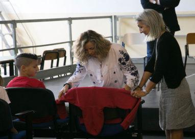 """""""Posto occupato"""": la scuola Micheli ricorda la piccola Maddy"""
