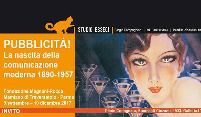 La storia della Pubblicità in Italia. 200 opere nella Villa dei Capolavori