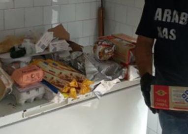 Via Raffaello: Negozio trovato 70Kg di merci alterata