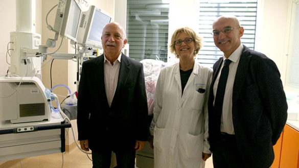 Donato un respiratore alla Neonatologia per ricordare Anna Burgio