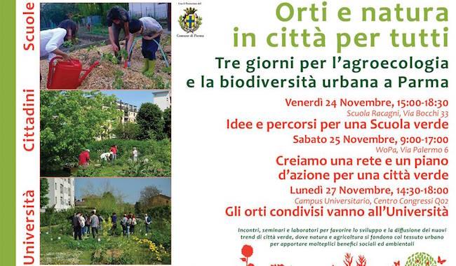 Orti e natura in città per tutti!