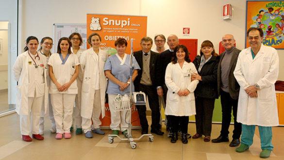 Ospedale Maggiore, due donazioni dall'associazione Snupi