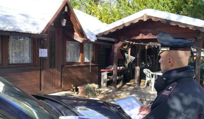 Berceto, sequestrate 170 unità abitative abusive in un camping