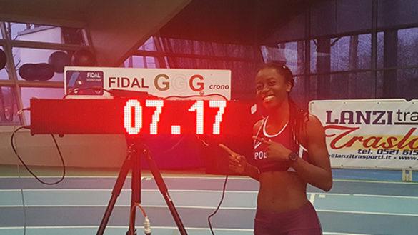 Per Desola Oki, record italiano nei 50 metri ostacoli