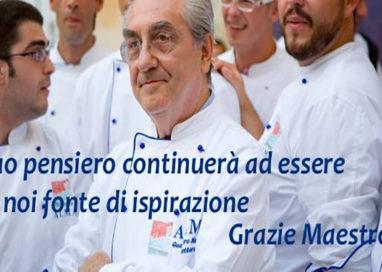 """""""Grazie maestro!"""" ALMA saluta così Gualtiero Marchesi"""