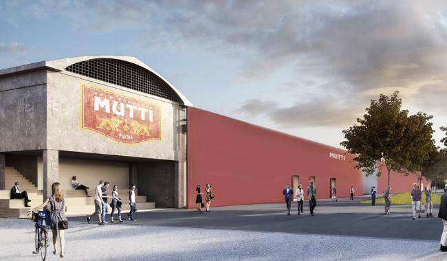 La sede di Mutti verrà trasformata con migliaia di barattoli di vetro