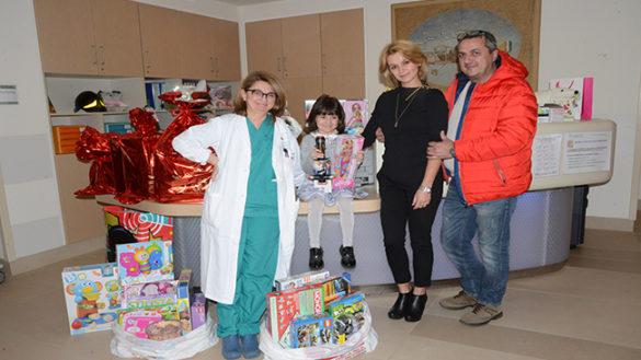 Quando dal buio nasce un sorriso: il regalo di una mamma all'Oncoematologia pediatrica