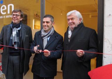 """Inaugurato """"Spazio Iren"""" in via Dante"""