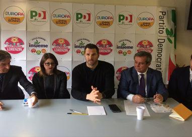 Lucia Annibali, Giuseppe Romanini e Giorgio Pagliari i candidati Pd