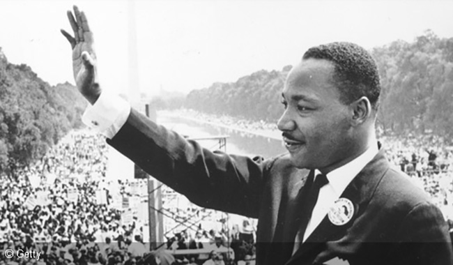Martin Luther King Day per ricordare Martin Luther King Jr a 50 anni dalla sua scomparsa