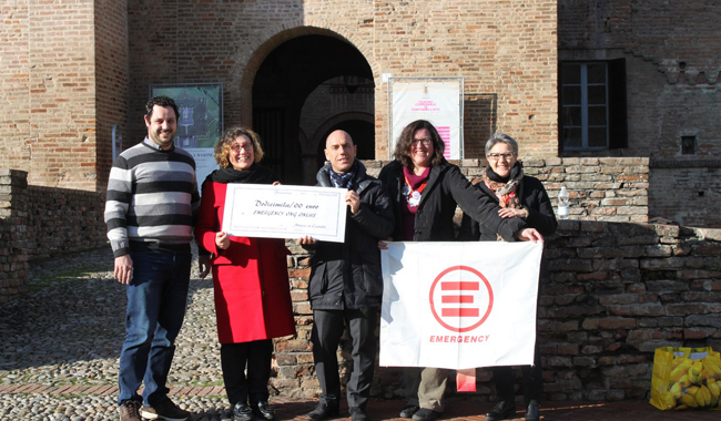 Musica in Castello dona 12.000 Euro ad Emergency